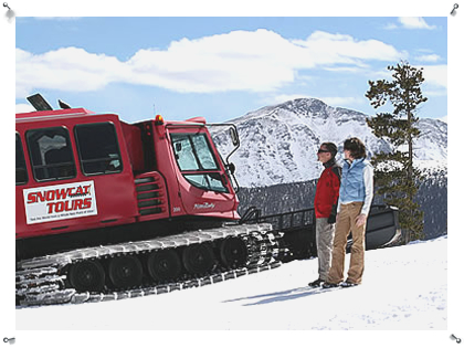 Snow Cat tours for non-skiers