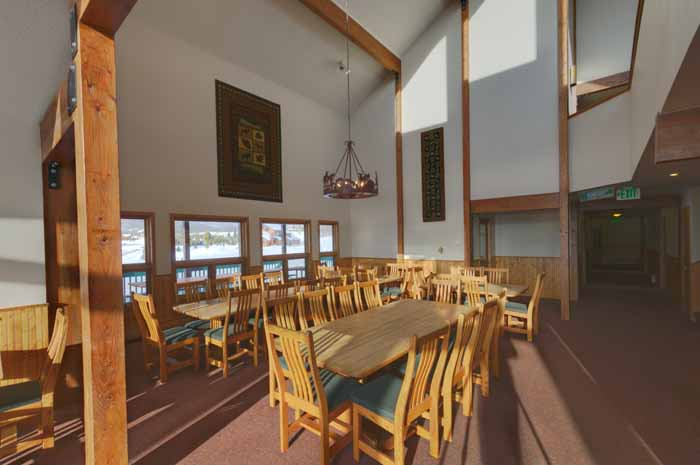 8 Bedroom Cabin at Snow Mountain Ranch- Dinning Room